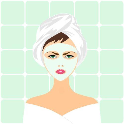 Soin De Beauté, Masque Facial, Spa, Visage, La Peau