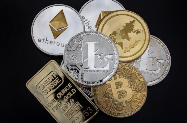 Crypto-Monnaie, Concept, Blockchain, L'Argent, Litecoin